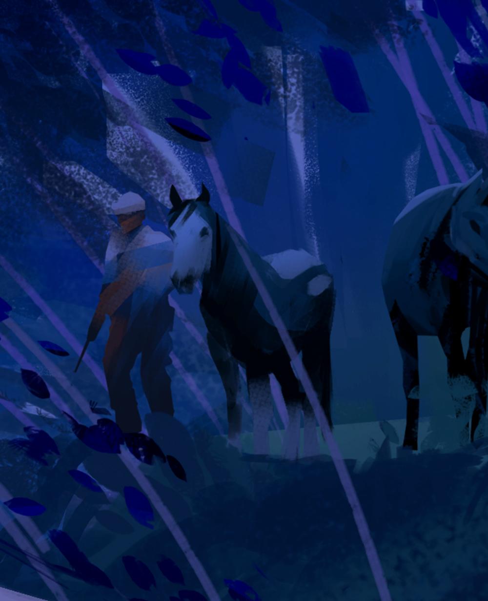Illustration de Sandrine Pilloud | Campfire | Livre Kanako Sawada écrit par Lionel Tardy