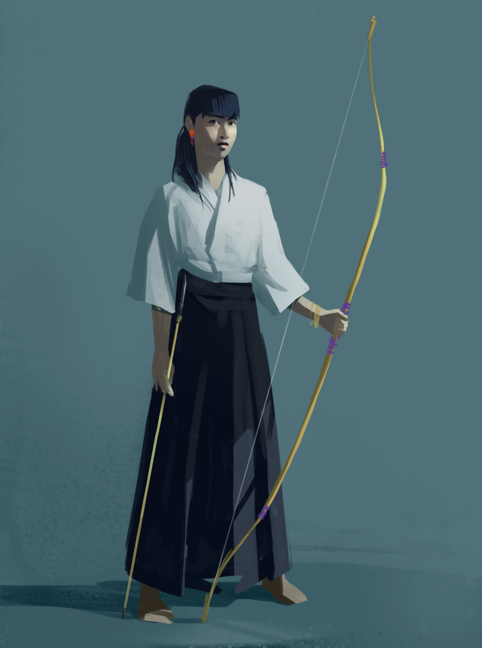Concept Art de Sandrine Pilloud | Archer