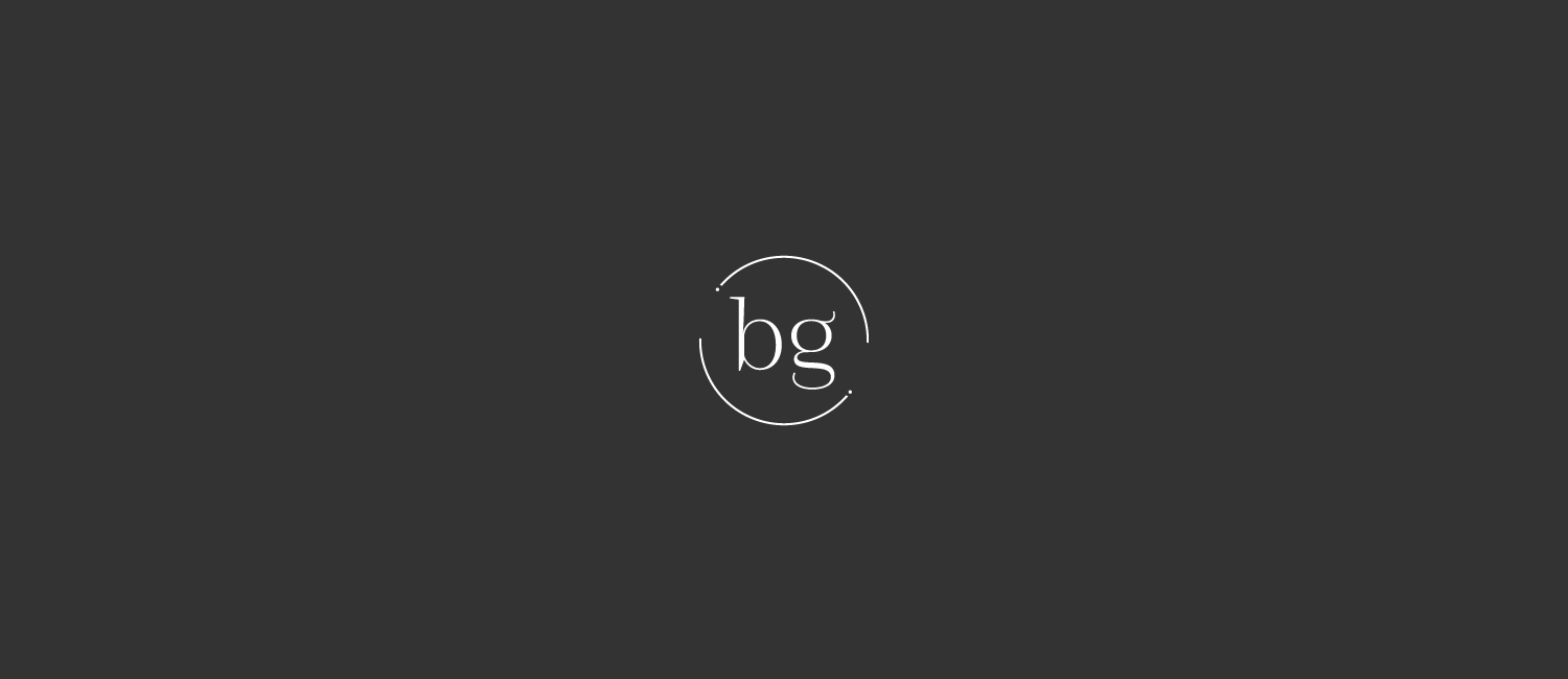 Logo de bg marketing négatif | Sandrine Pilloud
