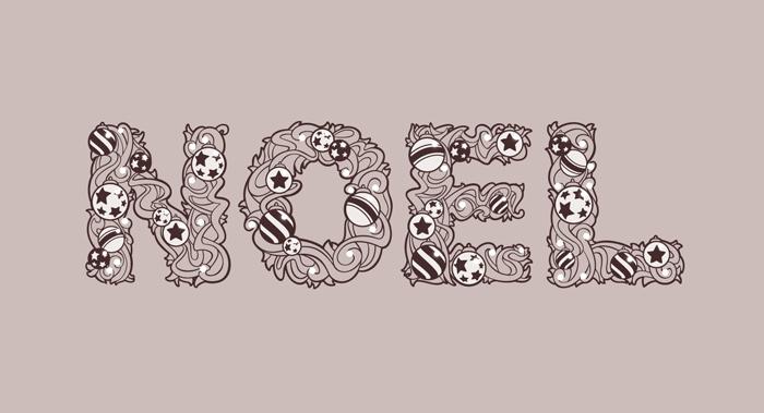 Graphisme de Sandrine Pilloud | Réalisation d'une typographie à la main - home page