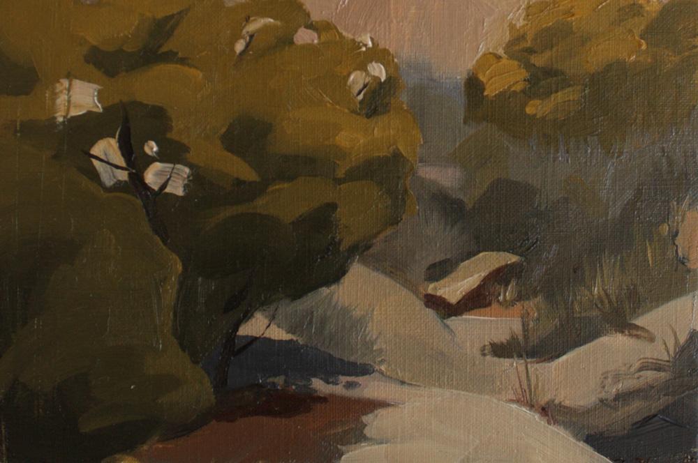 Plein Air Painting | Vasquez Rocks | Peinture à l'huile | Sandrine Pilloud