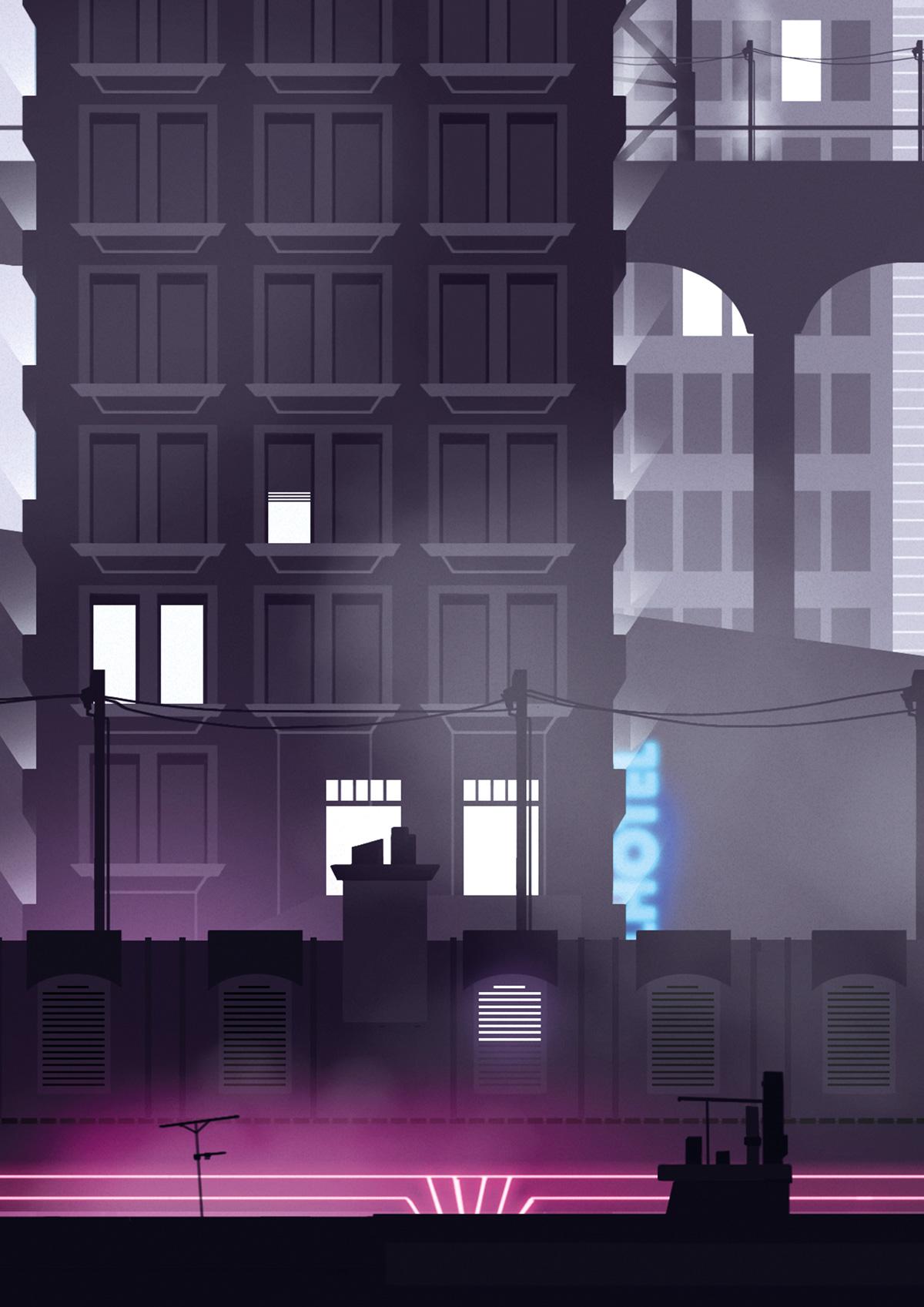 Game Art de Sandrine Pilloud | Colorful Darkness jeu vidéo